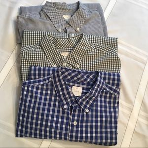Trio of Barely Worn Gap Cotton Button-Ups - 3for1